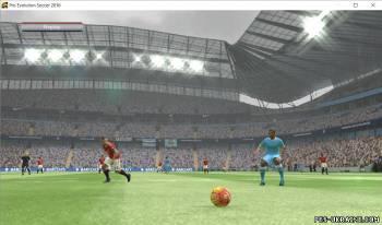 Домашний стадион Ман Сити для PES 2016